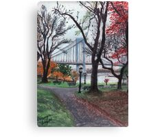 Whitestone Bridge Canvas Print