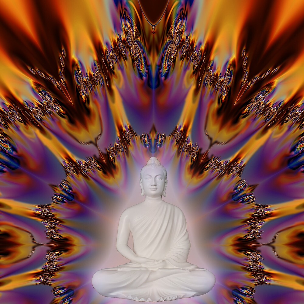 Buddha Light 2000 by Hugh Fathers