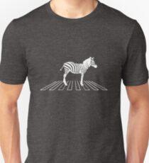 Zebra on pedestrian crossing  Unisex T-Shirt