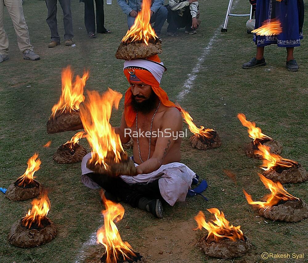 THE FIRE INSIDE by RakeshSyal