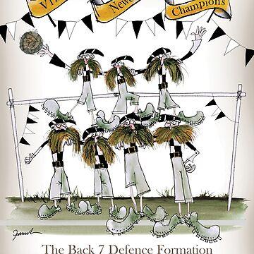 Newcastle Utd Defenders by tonyfernandes1