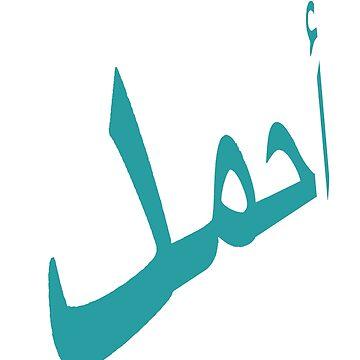 Ahmed Arabic Name  by Paradisessntl