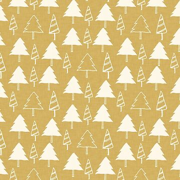 Christmas Tree Beige by susycosta