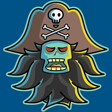 Pirate LeChuck by freeves