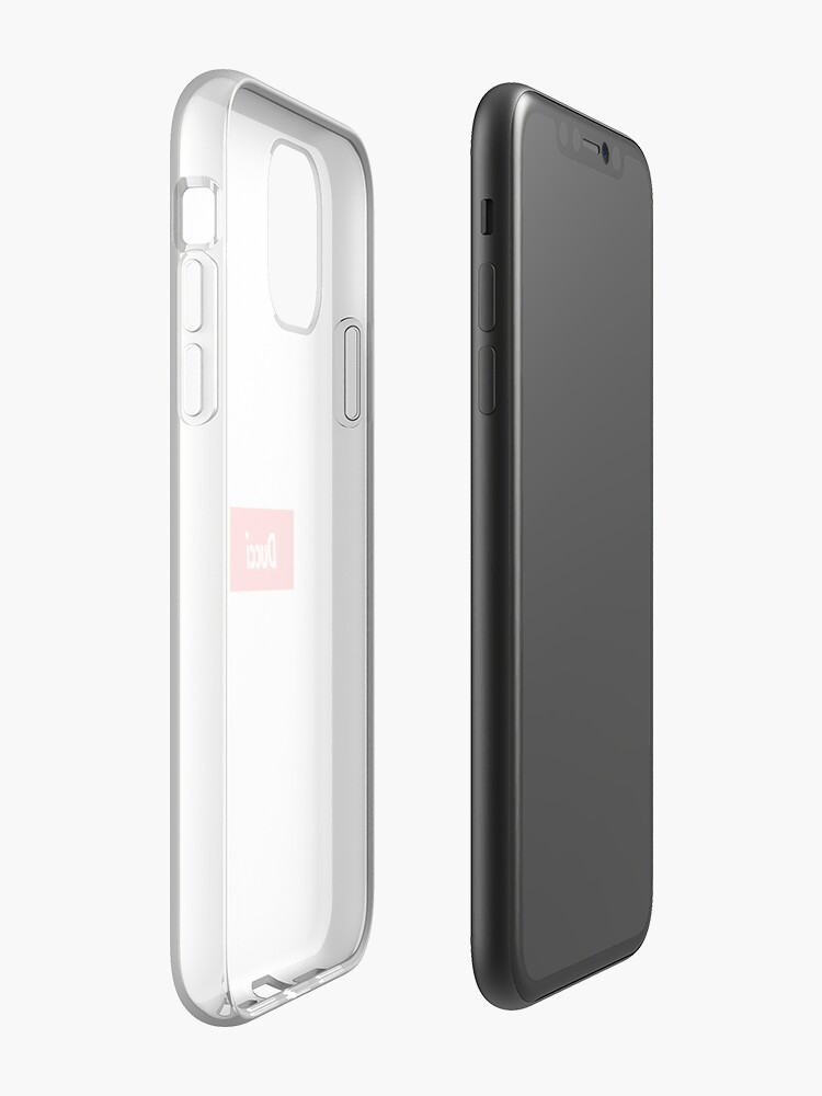 coque iphone 8 nike transparente - Coque iPhone « Ducci, un imitation suprême », par louisducci
