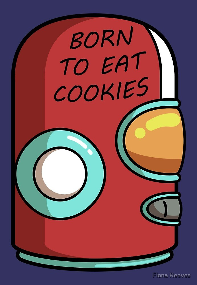 Final Space Gary Born To Eat Cookies by Fiona Reeves