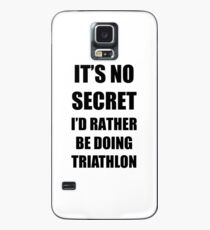 Triathlon Sport Fan Lover Funny Gift Idea Case/Skin for Samsung Galaxy