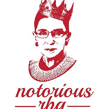 Pink Notorious RBG - Ruth Bader Ginsburg Female by RaveRebel