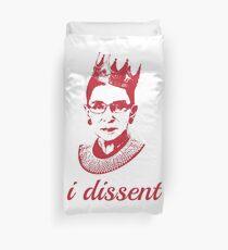 Pink I Dissent - Ruth Bader Ginsburg Feminist Duvet Cover