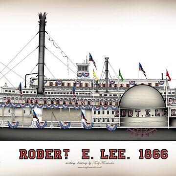 Robert E Lee 1866, tony fernandes by tonyfernandes1