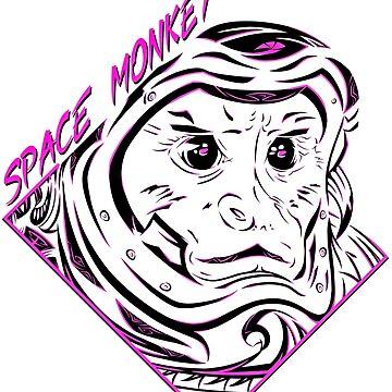 Space Monkey (Morado) de FejuLegacy