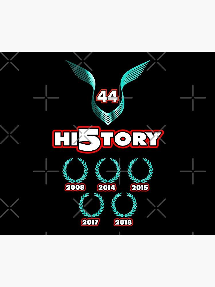 Lewis Hamilton World Champion 2018 history by ideasfinder