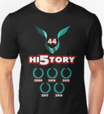 Lewis Hamilton Weltmeister 2018 Geschichte Slim Fit T-Shirt