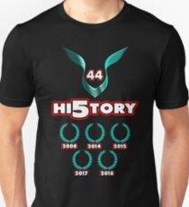 Lewis Hamilton F1 World Champion 2018 history Unisex T-Shirt