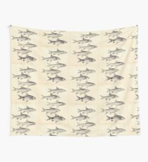 The fishes of India by Francis Day 140 - Barbus Wall Tapestry
