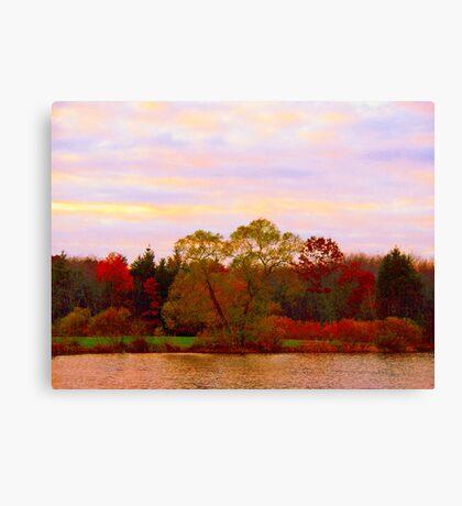 On Echo Lake  Canvas Print