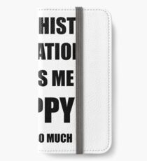 Buddhist Meditation Lover Fan Funny Gift Idea Hobby iPhone Wallet/Case/Skin