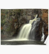 Linville Falls - Lower Falls Poster
