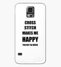 Cross Stitch Lover Fan Funny Gift Idea Hobby Case/Skin for Samsung Galaxy