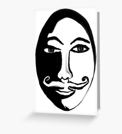 Hercules Poirot Greeting Card