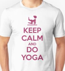 Keep Calm and do Yoga Unisex T-Shirt