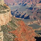 Paint it Red - Grand Canyon by Barbara Burkhardt