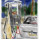 Pumping Gas in the Morning by Judy Boyle