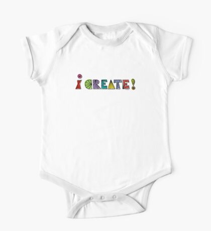 i create with lines  Kids Clothes