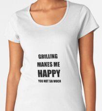 Grilling Lover Fan Funny Gift Idea Hobby Women's Premium T-Shirt