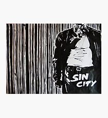 Sin city marv Photographic Print