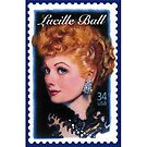 Lucille Ball Stamp by GSunrise