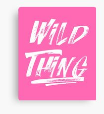 Lienzo Wild Thing White
