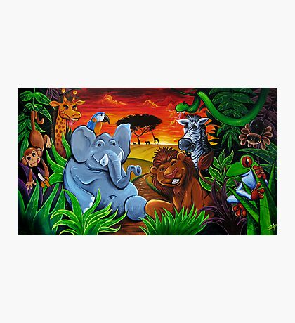 Jungle Mural Photographic Print