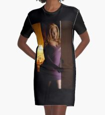 Welcome Home Graphic T-Shirt Dress