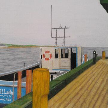 P.E.I, Canada docks by RiseAndConquer