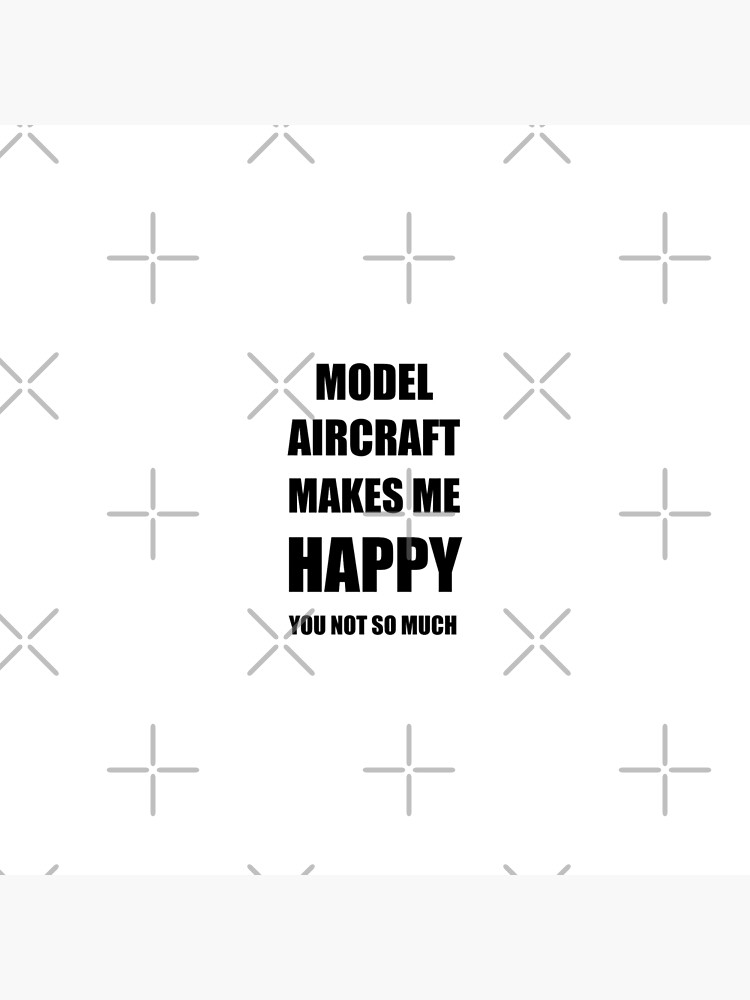 Model Aircraft Lover Fan Funny Gift Idea Hobby von FunnyGiftIdeas
