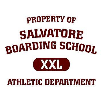 Property Of Salvatore Boarding School by BadCatDesigns