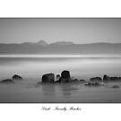 Dusk - Friendly Beaches, Tasmania. by Liam Byrne