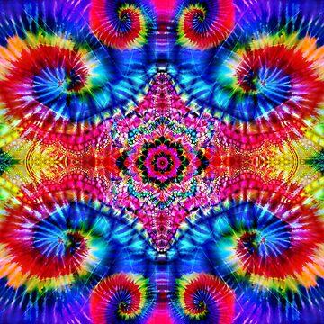 Tie-Dye Psychedelic by ImageMonkey