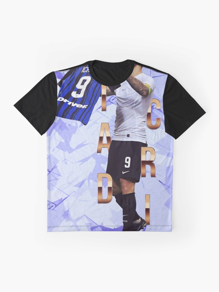 official photos 4784a aed57 Icardi Inter Milan poster | Graphic T-Shirt