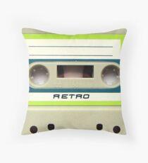 Cassette Tape 30 Throw Pillow
