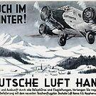 Luft Hansa 1926 ..also in Winter by edsimoneit