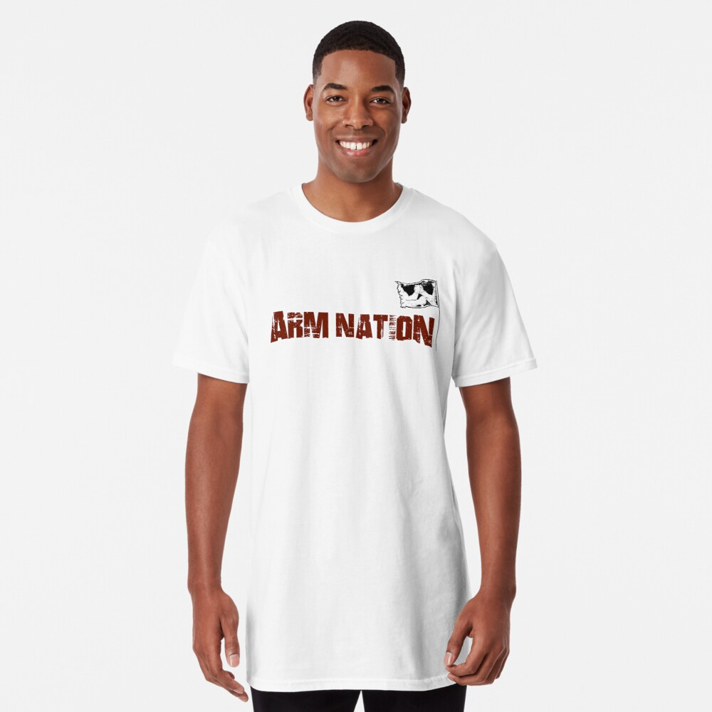 Arm Nation Merchandise Long T-Shirt Front