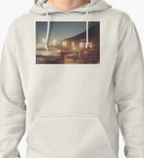 Venice Beach, vintage, oceanside, people,  beach photography, California photography Pullover Hoodie