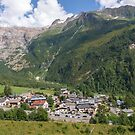 Le Tour - French Alps by Chris Warham