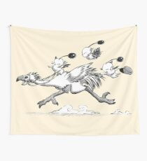 We are the heros now, kupo! Wall Tapestry
