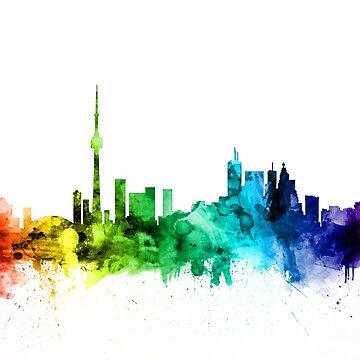 Toronto Canada Skyline by ArtPrints