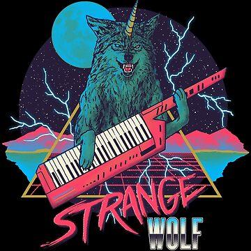 Strange Wolf by wytrab8