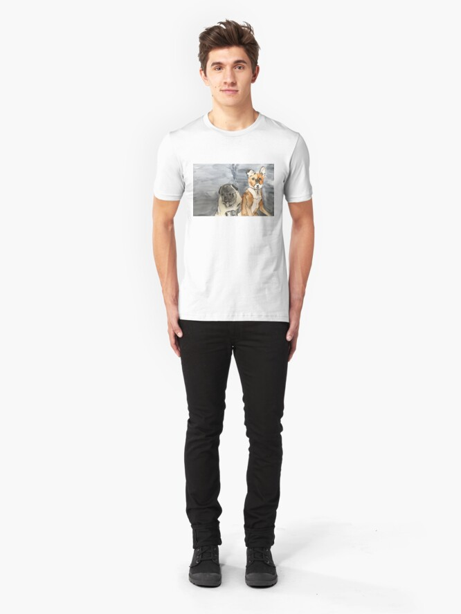 Alternate view of Rocco and Friend Slim Fit T-Shirt