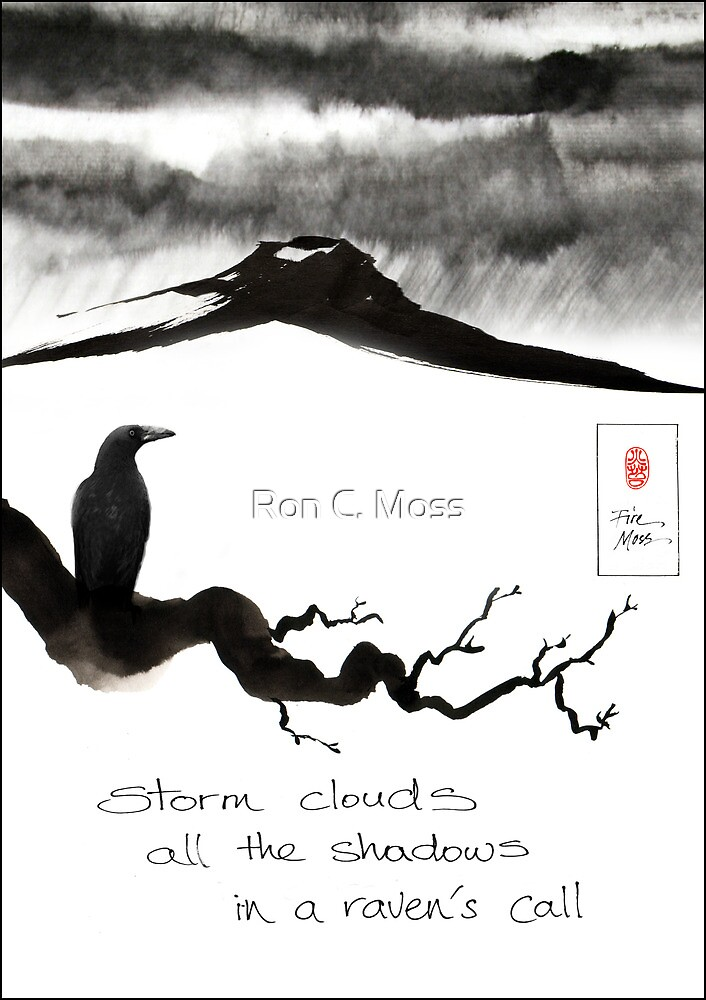 Storm Clouds by Ron C. Moss